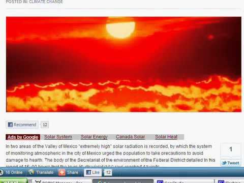 Extreme UV Radiation in Mexico2028