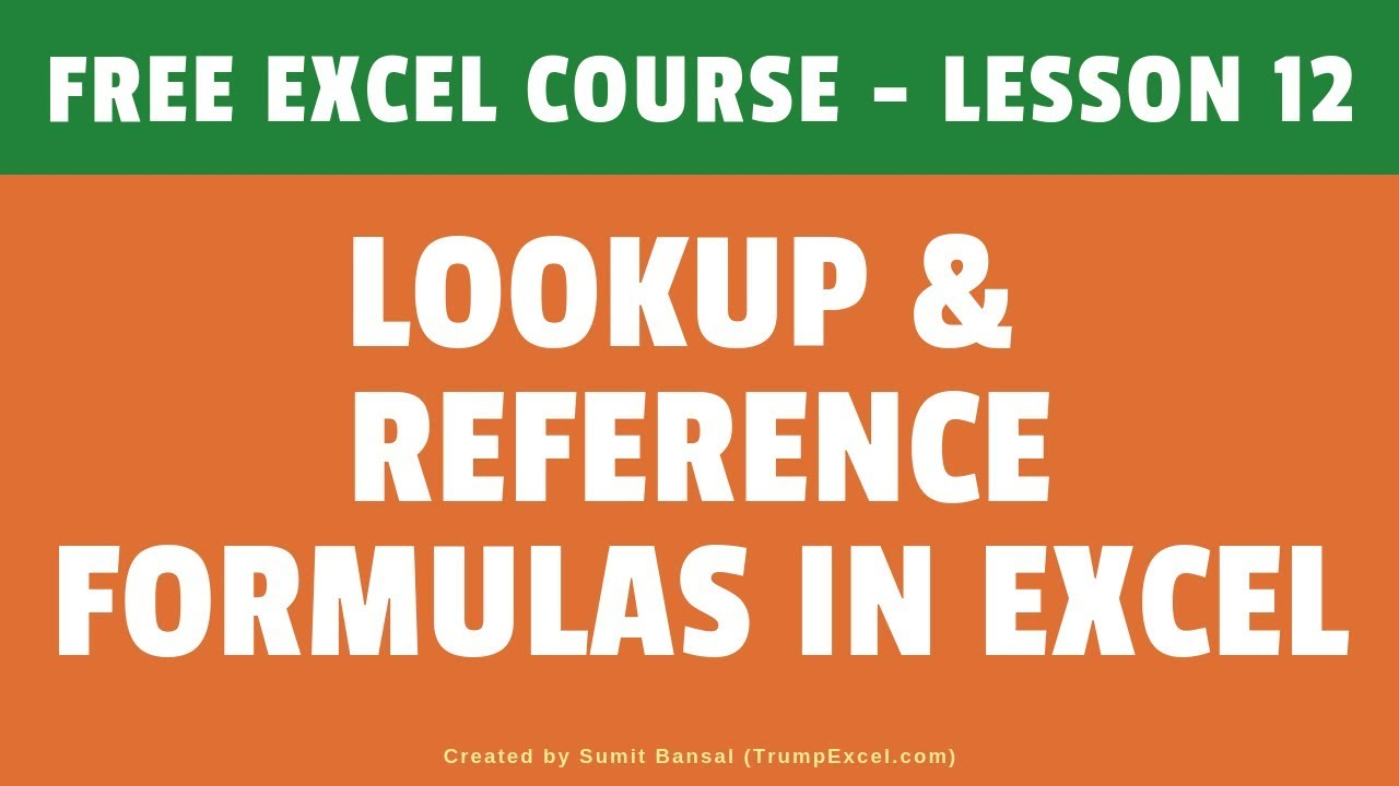 FREE Online Excel Training (12+ Hours) | Learn Excel (Basic