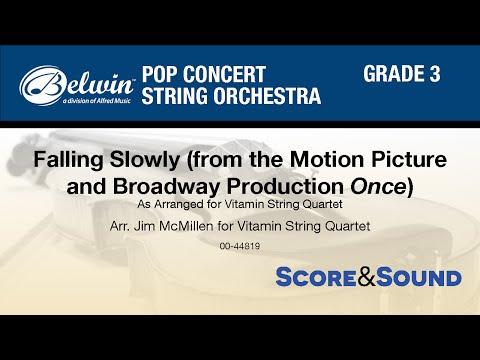 Falling Slowly, arr. Jim McMillen - Score & Sound