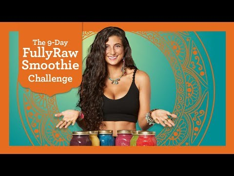 NEXT FullyRaw Smoothie Challenge Starts Nov. 1st! Join Now!