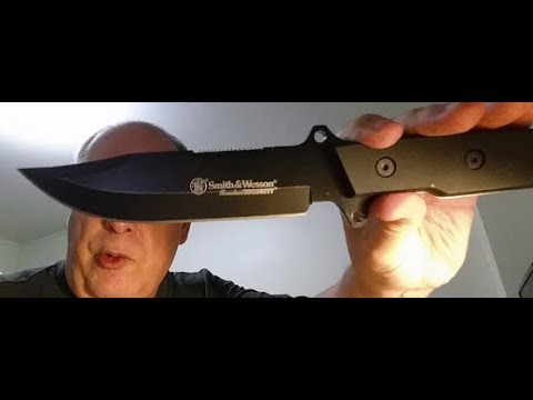 Smith & Wesson Homeland Security Knife