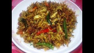How to make keski macher fry in bangla - কাচঁকি মাছের ভাজি রেসিপি - Choto Macher fry