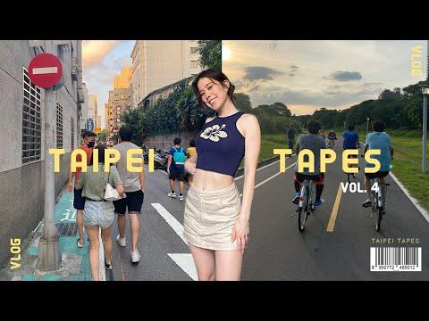 taipei vlog   making friends post-university and biking 🚲