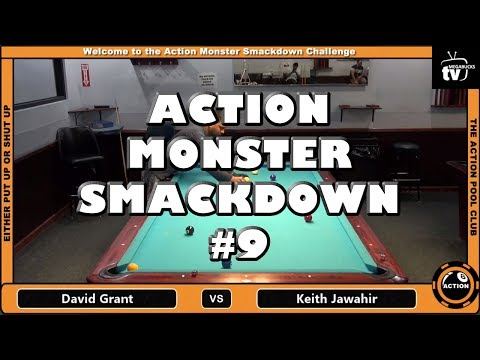 David Grant vs. Keith Jawahir - The Action Monster Smackdown