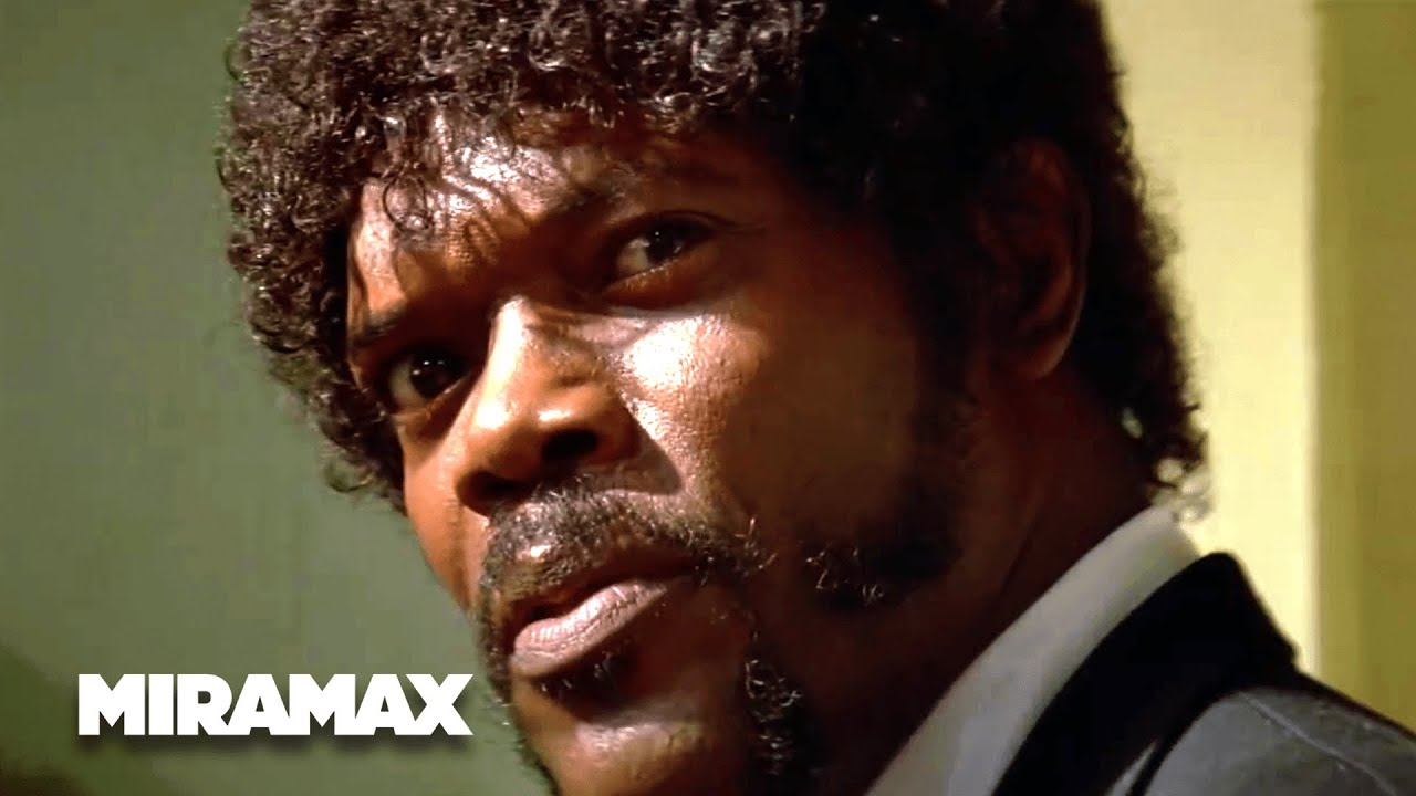Pulp Fiction | U0027Say What Againu0027 (HD)   Samuel L. Jackson, John Travolta |  MIRAMAX   YouTube