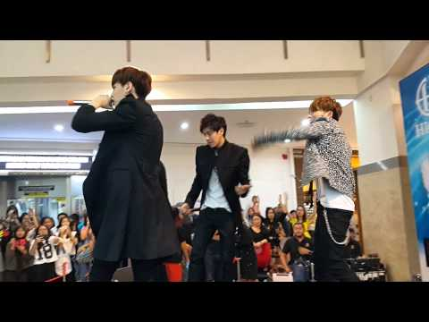 [06092015] HIGH4 ft. IU - Not Spring, Love, or Cherry Blossoms (Hartamas Shopping Centre, Malaysia)