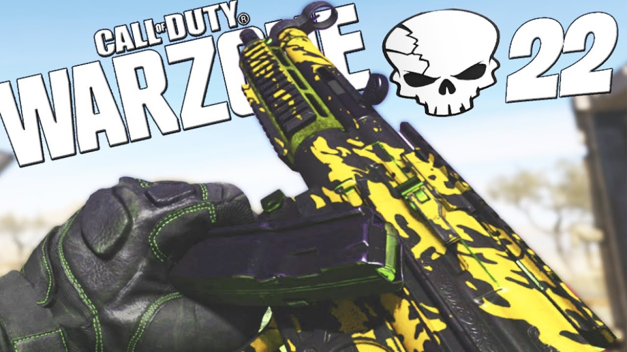 22 KILL GAMEPLAY! OVERPOWERED MP5 CLASS SETUP in WARZONE! (MODERN WARFARE BATTLE ROYALE)