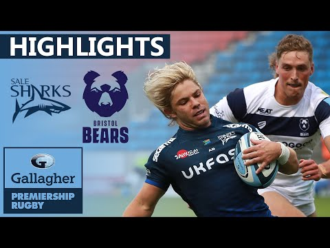 Sale V Bristol - HIGHLIGHTS |  3 Tries In 20 Minutes In Dominating Match! | Gallagher Premiership
