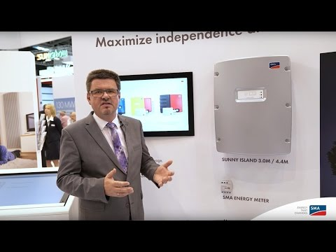 Mercedes-Benz Energy Storage With SMA Flexible Storage System