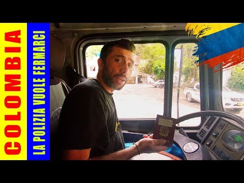 La Polizia vuole fermarci e noi rispondiamo | Colombia | Giro del mondo in camper 4x4