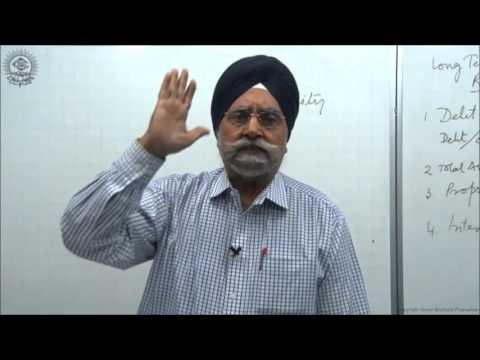 Solvency ratios or Long term financial position ratios Cl XII AC by Dr  Balbir Singh