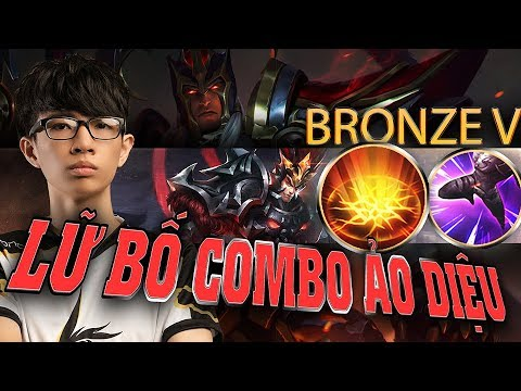 Đồng 5 - Lữ Bố combo ảo diệu | Arena of Valor Lu Bu Build Gameplay