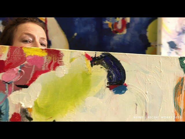 Priscilla Heine - Recent Works 2020 - In the Studio