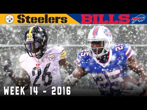Bell Bulldozes the Bills! (Steelers vs. Bills, 2016)