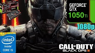 Call of Duty  Black Ops 3 GTX 1050TI 4GB | FXAA + High settings | 1080p