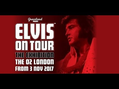"ELVIS à Londres, reportage sur ""ELVIS ON TOUR / THE EXIBITION / THE O2 LONDON"" by LM and JMD"