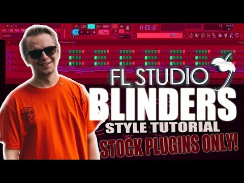 How To Make Future House  Like Blinders Using Only Stock Plugins FL Studio
