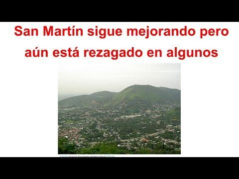 Análisis Estadístico de San Martín rezagado en competitividad mejorando PBI