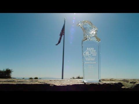 "2018 Eagle Rare Life Award- Ronald ""Jake"" Clark - YouTube"