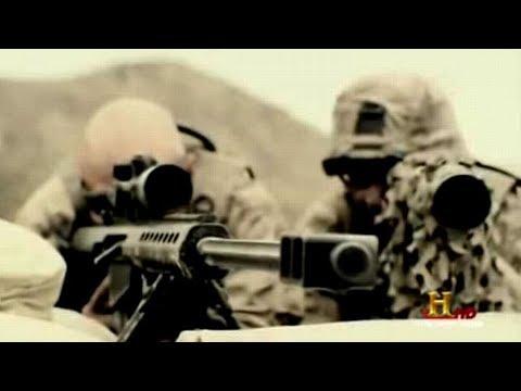 米軍スナイパー 長距離狙撃銃M82A3で イラク戦争 - YouTube