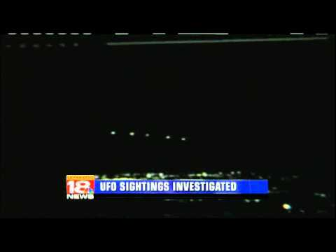 """Are We Really Alone? Kentucky Called """"Hotbed"""" For UFO Sightings / LEX 18 Feb 18, 2011"""