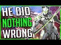 GENJI DID NOTHING WRONG - Lore Bite: Overwatch