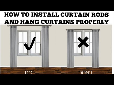 kwikhang curtain rod brackets hang