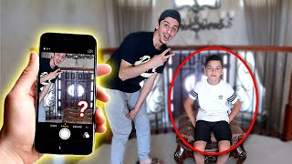 Download WE MADE HIM INVISIBLE!! **crazy magic trick** Mp3 and Videos