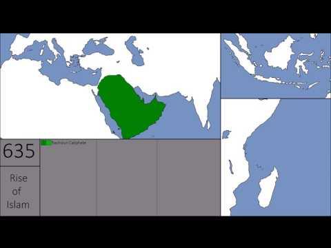 The Empire of Islam | Rashidun, Umayyid & Abbasid Empire | Year by Year comparision