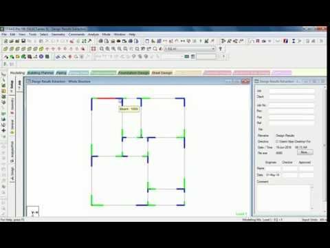 staad beam design