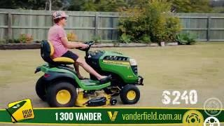 John Deere S240 at Vanderfield