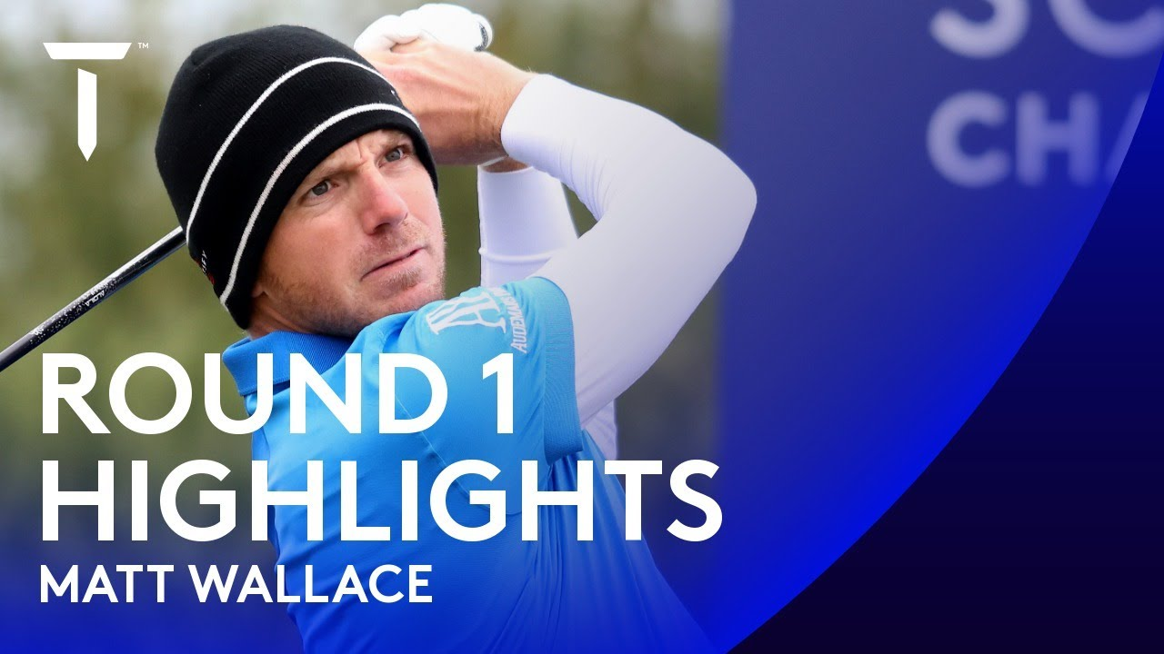 Matt Wallace opens with bogey-free 65 | 2020 Scottish Championship presented by AXA