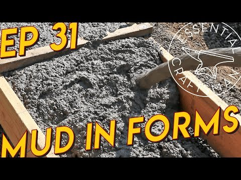 Pouring Concrete Footings Ep.31