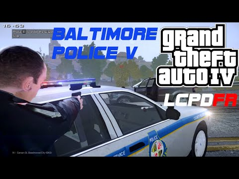 LCPDFR Baltimore Police V [ Taser Danger ] Episode 5 (Waiting on LSPDFR!)