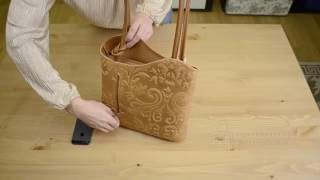Видео обзор итальянской сумки Vera Pelle 1122 FIRENZE для магазина BorsaToscana.ru
