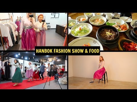 WEARING A CASUAL HANBOK IN JEONJU & EATING FOOD | Korea Joa VLOG #4