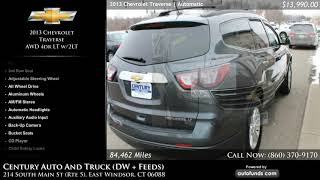 Used 2013 Chevrolet Traverse | Century Auto And Truck (DW + Feeds), East Windsor, CT