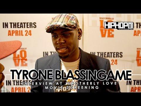 Tyrone Blassingame At 'Brotherly Love' Movie Screening in Philadelphia 33115