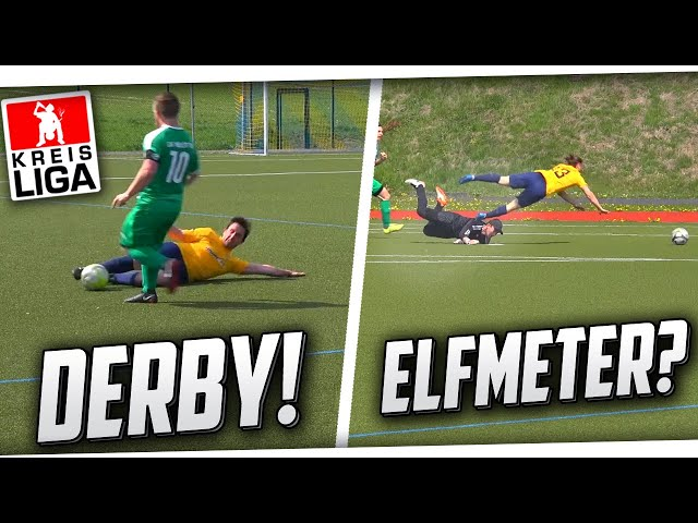 HARTES DERBY! Heftiges Kreisliga Spiel ft ELFMETER, Fouls, Toren & mehr! PMTV