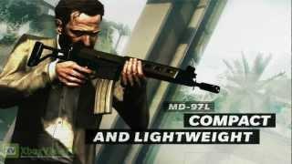 Max Payne 3 - Assault Rifles Gameplay Trailer (2012) | HD