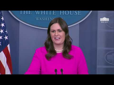 1/16/18: White House Press Briefing
