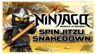 Ninjago - Spinjitzu Snakedown - Ninjago Games