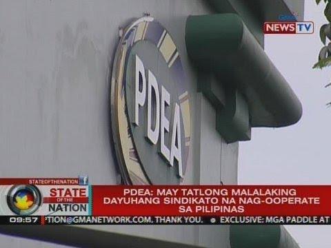 PDEA: May tatlong malalaking dayuhang sindikato na nag-ooperate sa Pilipinas