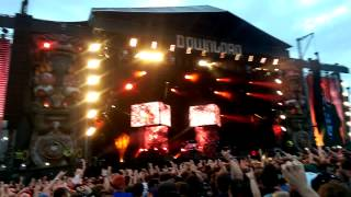 Linkin Park Opening with Papercut at Download Festival 2014 HQ