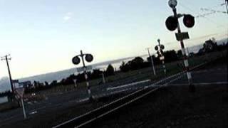 Twilight level crossing