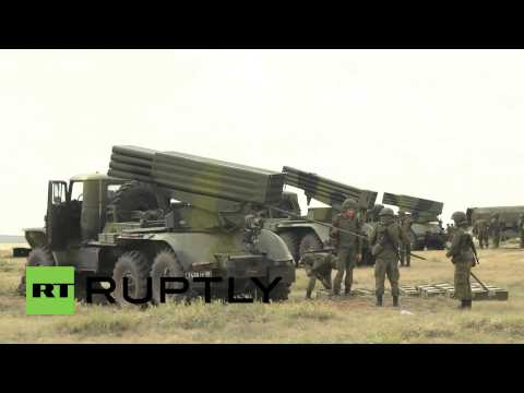 China: See Russian artillery units unleash their firepower