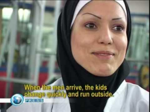 Womens Karate in Tehran