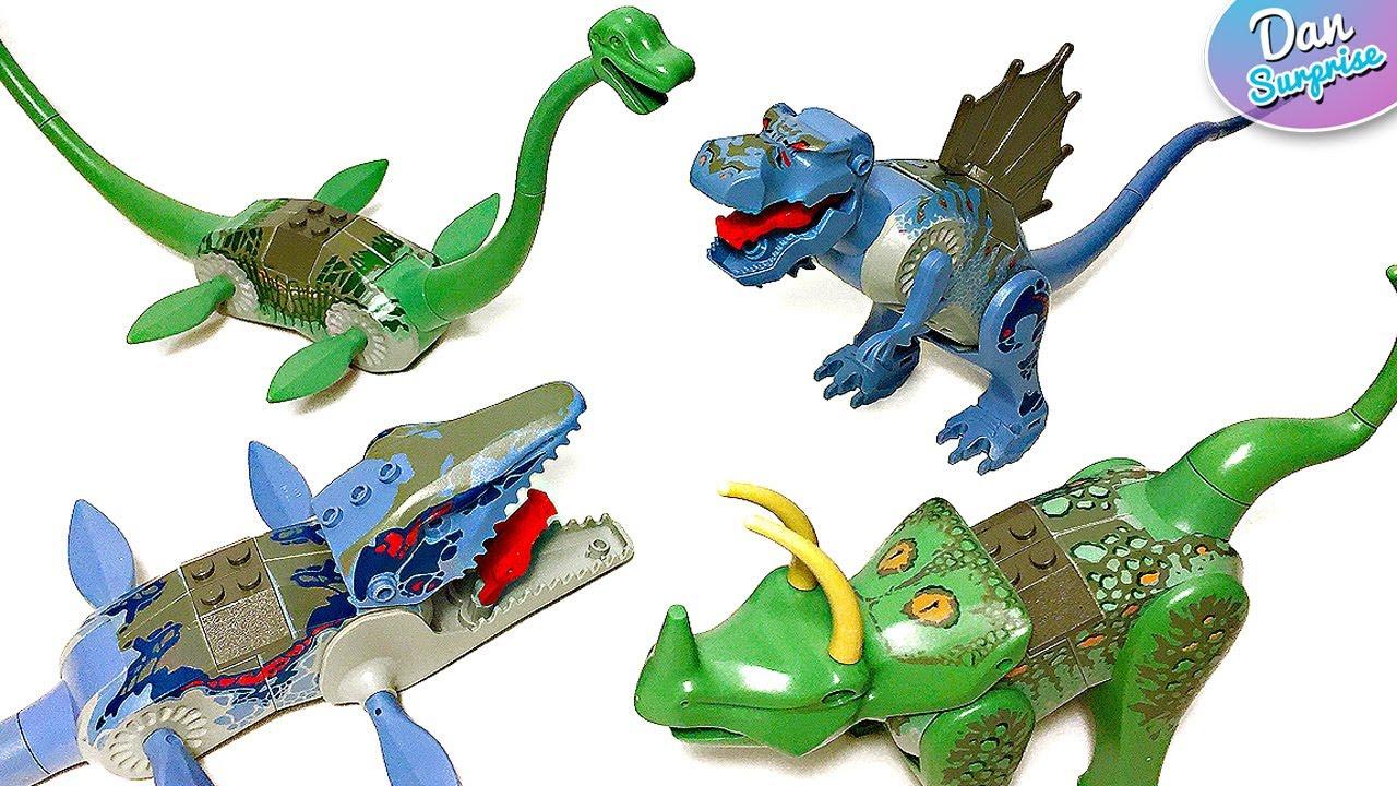 Lego dinosaurs transforming toys tyrannosaurus - Lego dinosaures ...