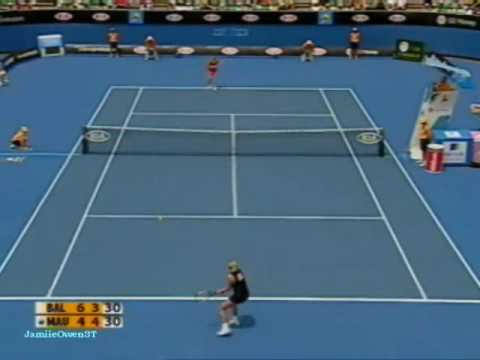 Amelie Mauresmo vs Elena Baltacha 2009 AO Highlights