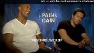 Dwayne Johnson & Mark Wahlberg interview by Monsieur Hollywood
